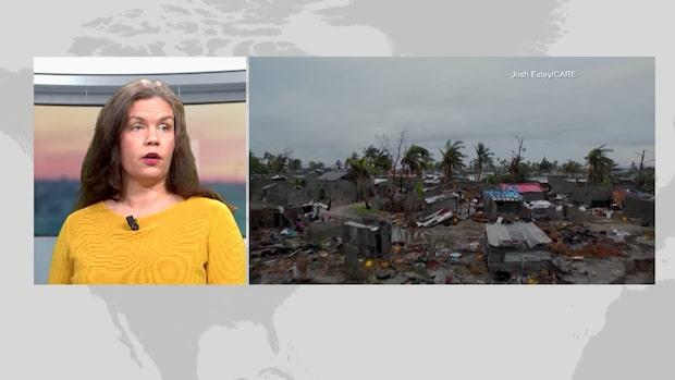 """Afrikagruppernas generaldirektör: """"Staden Beira är 90 procent demolerad"""""""