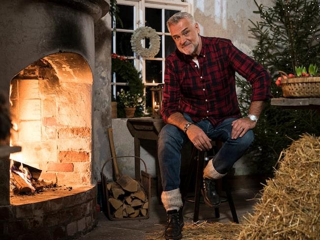 """Ernst är just nu aktuell med programmet """"Jul med Ernst"""" på TV4 på torsdagar."""
