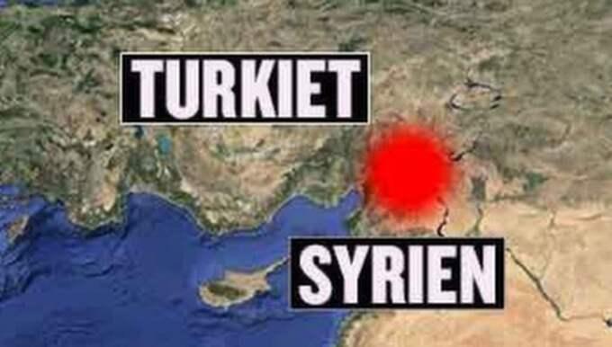 Mannen uppges ha försvunnit i närheten av den turkiska staden Gazientep. Det är ett gränsområde som kontrolleras av terrorgruppen IS.