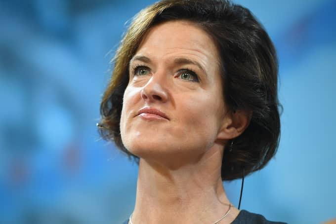 I slutet av augusti meddelade Anna Kinberg Batra att hon avgår som partiledare för Moderaterna, efter en längre period av dåliga opinionssiffror. Foto: FREDRIK SANDBERG/TT / TT NYHETSBYRÅN