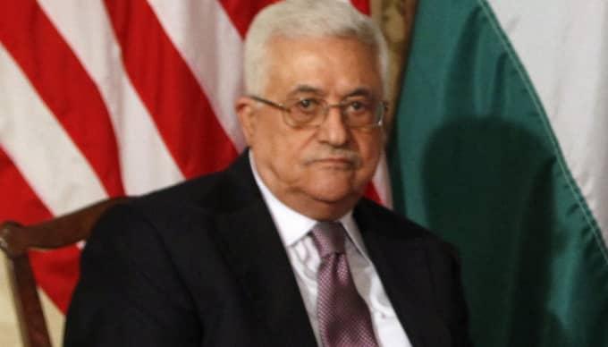 Abbas kommer i dag lämna in ansökan om ett palestinskt medlemskap i FN. Foto: Kevin Lamarque/Reuters