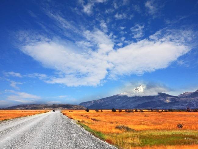 Patagonien i Argentina.