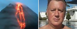35 000 evakueras efter vulkanutbrott