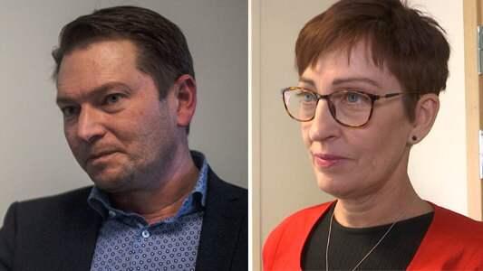 Robert Odeberger ersätts i Hörby kommun efter att kommunalrådet Susanne Meijer reagerat på hans uttalanden. Foto: Arkiv