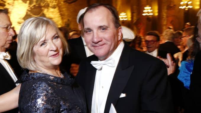 Statsminister Stefan Löfven med sin fru Ulla. Foto: Patrik C Österberg / STELLA PICTURES
