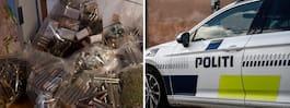 Narkotikahundar hittade knarkgömma i Christiania