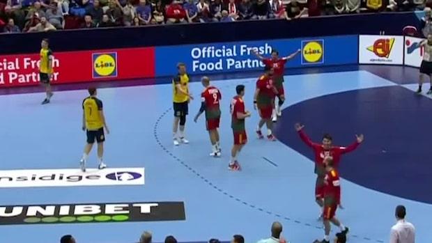 Höjdpunkter: Sverige utklassat i handbolls-EM