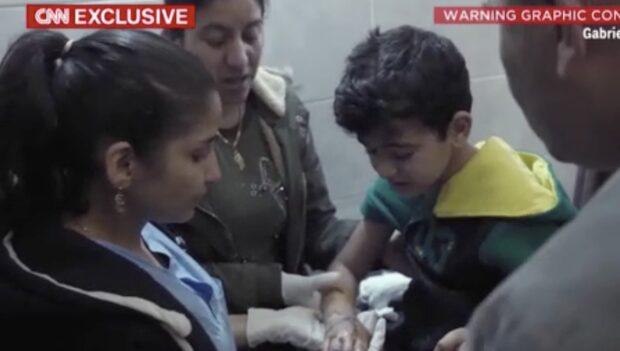 CNN:s reporter Ben Wedeman kan visa exklusiva bilder från Afrin
