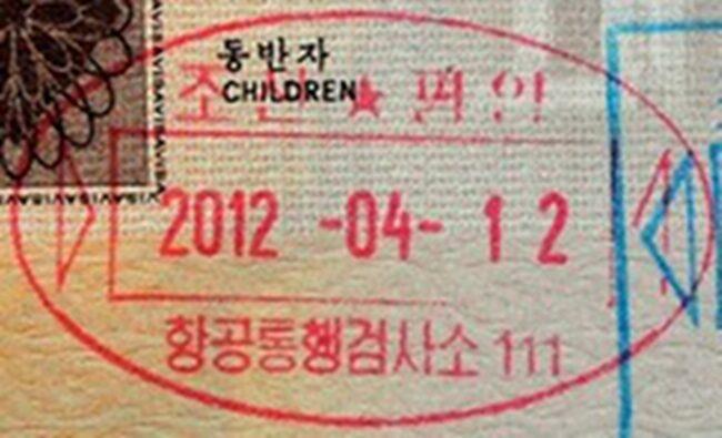 "<span>Endast 1 500 turister tillåts besöka den slutna diktaturen Nordkorea varje år.</span><span>FOTO: <a target=""_blank"" href=""https://en.wikipedia.org/wiki/Gallery_of_passport_stamps_by_country_or_territory"">Wikimedia</a><br></span>"