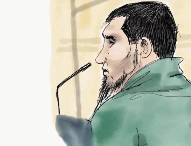 Hör Rakhmat Akilovs första ord i rätten