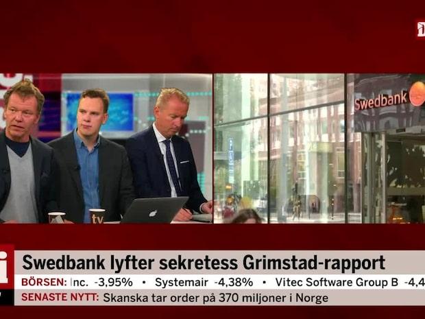 """Experterna om Swedbank: """"De har inget att dölja längre"""""""
