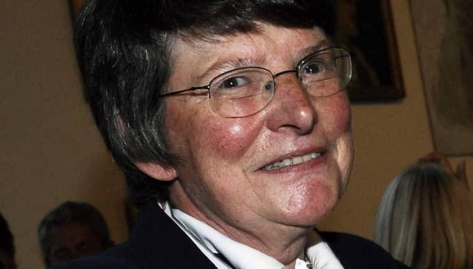 Men Christina Rogestam, ordförande i den oberoende pensionärsorganisationen SPF Seniorerna, är inte imponerad över höjningen. Foto: Petra Jonsson