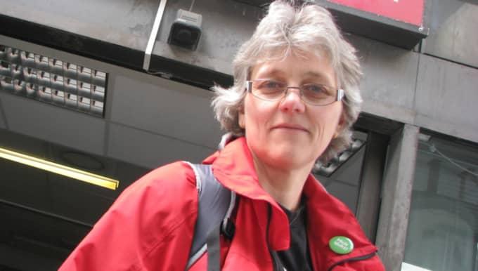 """""""Provocerande"""", anser Vårdförbundets ordförande i Västsverige Anne Karin Höglund om direktörernas fallskärmar. Foto: Hanna Freij"""