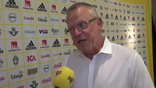 """Janne Andersson: """"Svårt att föreställa sig"""""""