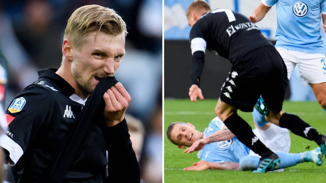 """Sebastian Eriksson om duellen mot Sören Rieks: """"Han stämplade mig, den jäveln"""""""