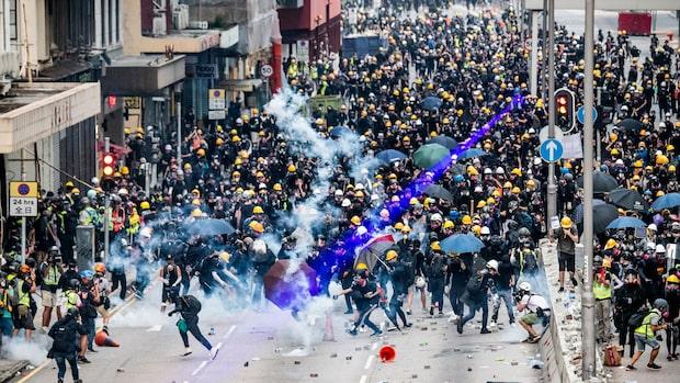 Lagförslaget dras tillbaka efter protesterna i Hongkong