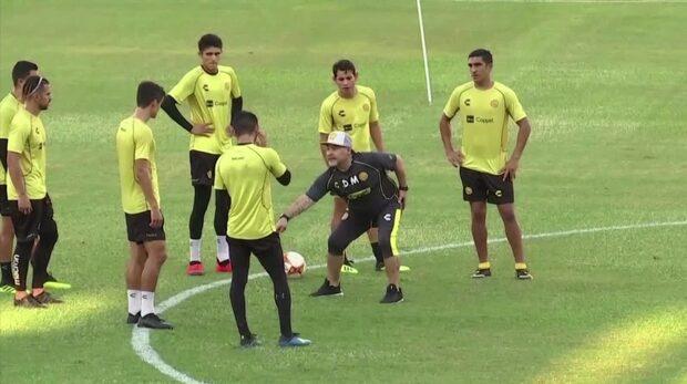 """Maradona: """"Är inte här på semester"""""""