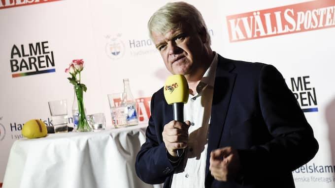 Michael Arthursson ville inte ge några löften om Centerns inställning till en tunnel mellan Helsingborg och Helsingör. Foto: JENS CHRISTIAN