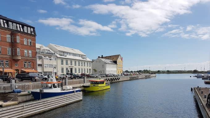 Fyndet gjordes av en fiskebåt i Landskrona. Foto: Läsarbild