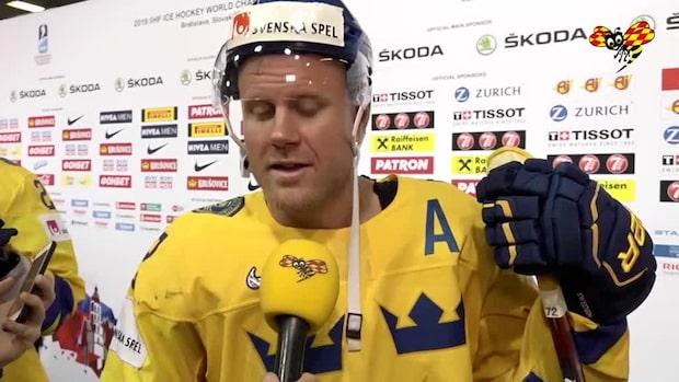 """Patric Hörnqvist: """"Förlorade inget guld idag"""""""