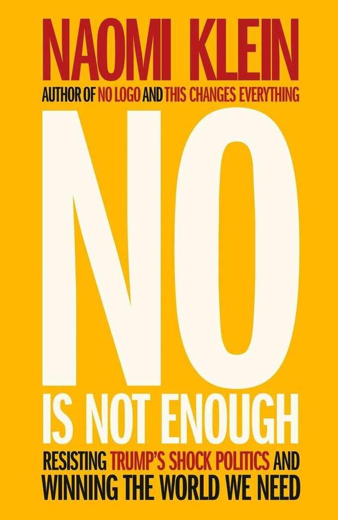 """""""No is not enough"""" kom ut i dagarna."""