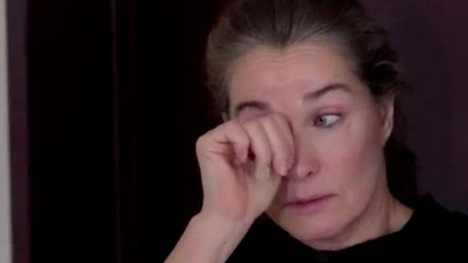 Agneta Sjödins tårar – efter insikten med dottern