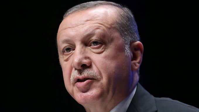 Recep Tayyip Erdogan. Foto: AP / AP TT NYHETSBYRÅN