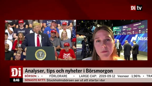 "Frida Wallnor på Nasdaq: ""Svaga inflationssiffror"""