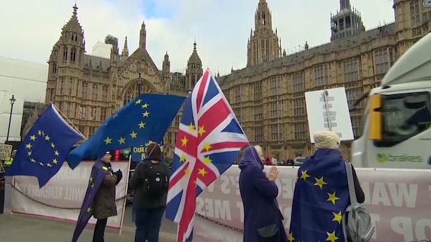 Brexit: Efter motgång för May – ny omröstning