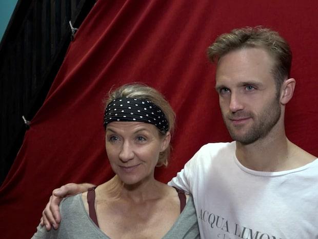 Kristin Kaspersen berättar om sonens stöd