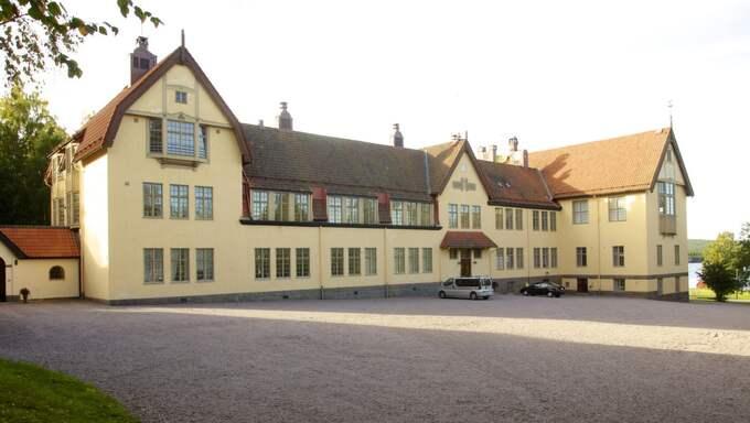 Det var i mitten av januari som skolledningen på den privata internatskolan Lundsberg polisanmälde en elev. Foto: Endermark Mats
