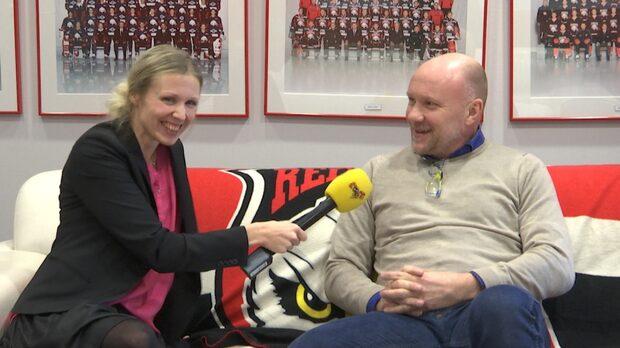 Studio Kvällsposten träffar Redhawkstränaren Peter Andersson