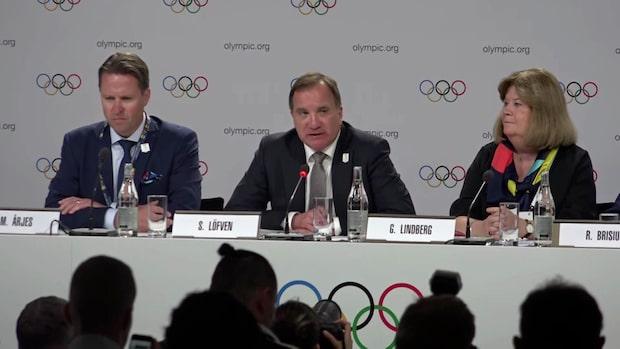 """Stefan Löfven: """"Sverige vill förändra OS"""""""
