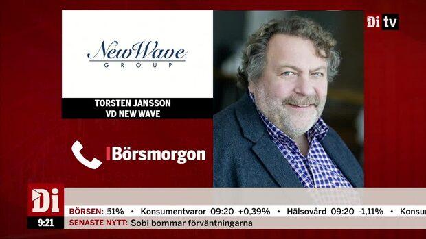 """New Wave: """"Trenden fortsätter från förra året försäljningsmässigt"""""""