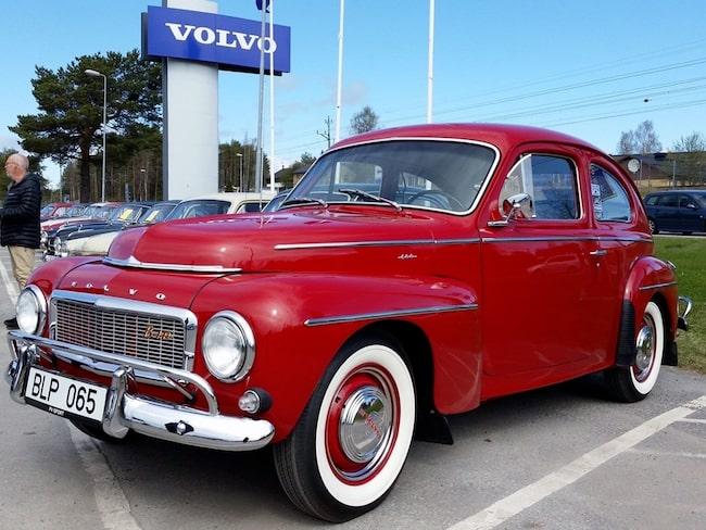 En Volvo PV 544 Sport B18D från 1961-62 blev bilen som fick flest bud.