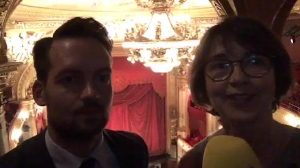 Pausprat under Wagners Ringen på Operan