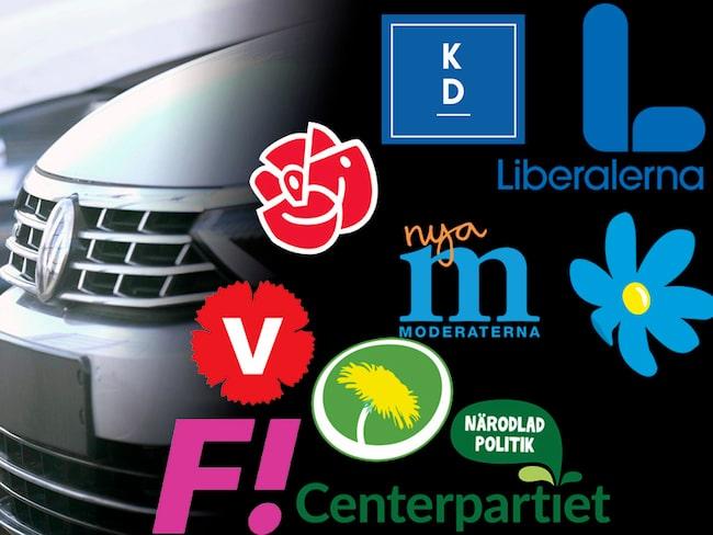 Här är politikernas lösningar på trängsel och parkeringsbrist.