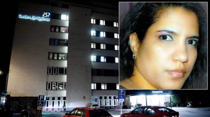 Sandra Pedroso opererades på Södertälje sjukhus och fick ett brev hem som varnade för infektion.