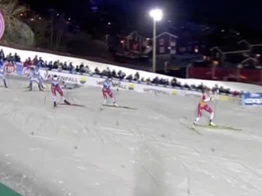 Mäktiga rycket från Johaug – vinner sprinten i Åre överlägset