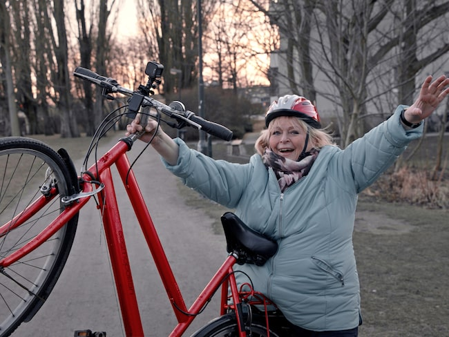 Kikki Danielsson är en av våra mest folkkära artister. Men inte många vet att hon är lite besatt av Blocket. Här är hennes senaste köp – en elcykel.