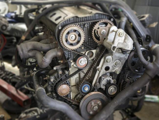 Byter man från bensinmotor till dieselmotor måste man registreringsbesiktiga bilen.