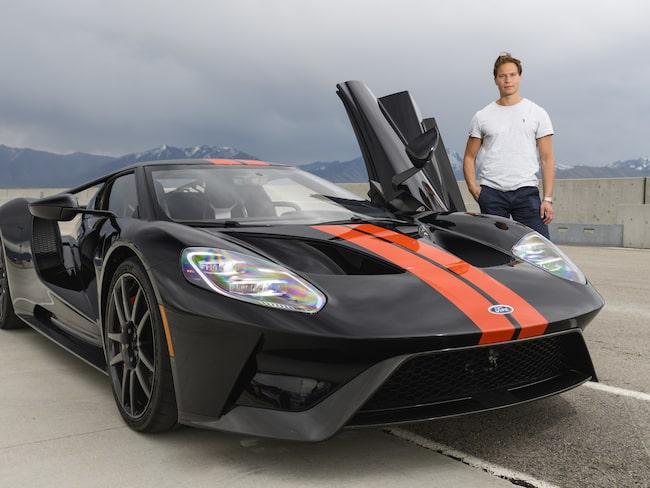 Expressens Elias Andersson var i Salt Lake City för att köra Ford GT.