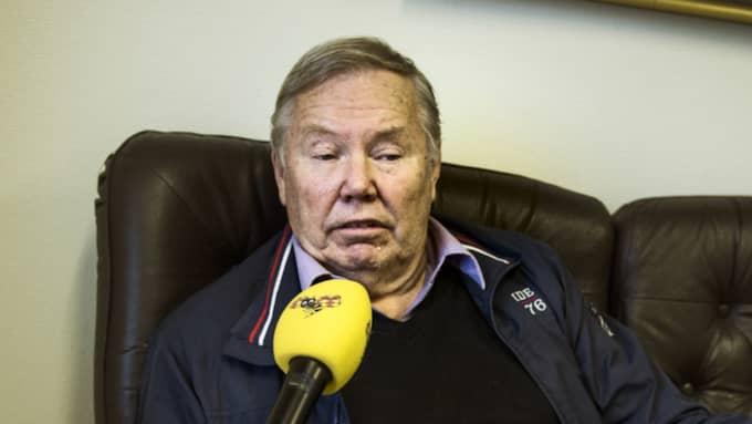 """Bert Karlsson är inte nöjd. """"Jag hade hoppats på mer"""", säger han. Foto: Robin Aron"""