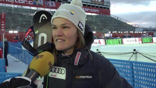 """Swenn-Larsson efter silvret: """"Helt fantastiskt"""""""