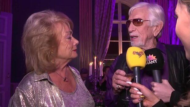Owe Thörnqvist på efterfesten efter Melodifestivalen
