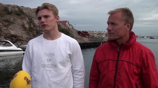 """Lias Andersson om draften: """"Riktigt häftigt"""""""