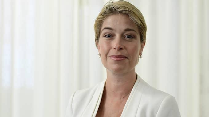 Annika Strandhäll, socialminister (S). Foto: MAJA SUSLIN/TT / TT NYHETSBYRÅN