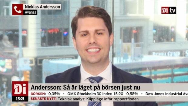 Andersson: Har varit skäl för oro en längre tid