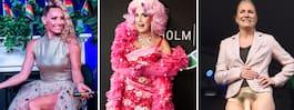 Åtta härliga Pride- outfits vi minns