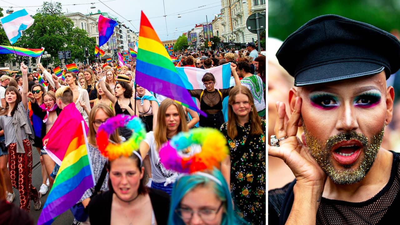15 000 gick i Prideparaden inför storpublik i Göteborg